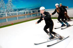 Et ski kursus gør alle bedre