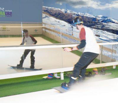 Lær at stå på snowboard