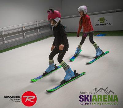 Lær at stå på ski
